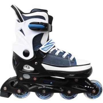Cox Swain Sneak Kinder Inline Skates & Kinder Schlittschuh 2 in 1 - größenverstellbar ABEC5, Farbe: blue, Größe: S (33-36) - 2