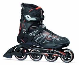 Fila Herren Inline Skate Primo ALU, Schwarz/Rot, 6, 010614112 - 1