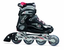 FILA Inline Skate Wizy Pro, Black-Blue, 35-38 - 1