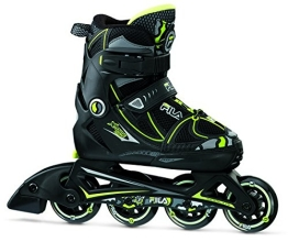 Fila Jungen Inline Skate X-One, Schwarz/Lime, EU 32-35/UK M, 010615140 - 1