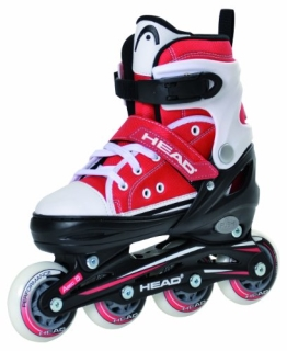 Head Kinder Inlineskate Adjustable Cool, Rot/Weiss, 38-41, H4JR12 - 1