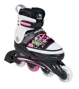 HUDORA Mädchen Inline-Skates Kinderinliner, Pink, 30-33, 37733 - 1
