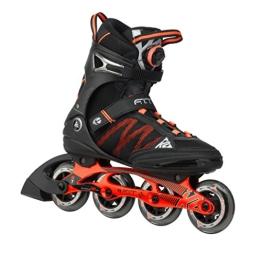 K2 Herren Inline Skate FIT BOA, Schwarz/Rot, 11.5, 3050000.1.1.115 - 1