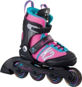 K2 Kinder Inline Skate Marlee Pro, Rosa/Blau/Schwarz, M, 30A0219.1.1.M - 1
