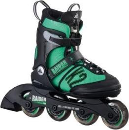 K2 Kinder Inline Skate Raider Pro, Grün/Schwarz, L, 30A0218.1.1.L - 1