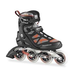 Rollerblade Herren Inlineskate Macroblade 90, Black/Red, 31, 07355400 741 - 1