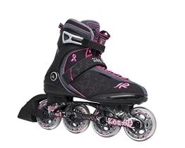 K2 Damen Inline Skate Zoe 80, schwarz, 9.5, 3050792.1.1.095 - 1