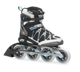Rollerblade Damen Inlineskate Igniter 90 XT W, Black/Light Blue, 40, 07309900 821 - 1