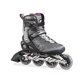 Rollerblade Damen Inlineskate Macroblade 84 ALU W, Black/Purple, 27, 07501900 N41 - 1
