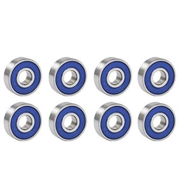 TRIXES X 8 reibungsfreie Kugellager Abec 9 für Skateboard, Roller, Inline Skates - 1