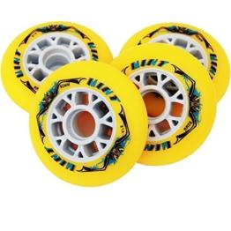 8 St. Mint Inline Skate Race Speed Rollen - 90mm - High Rebound, Größe: Härte 87A - 1