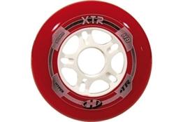 Hyper Rollen für Inlineskates XTR, Rot/Weiss, 80, 72153 - 1