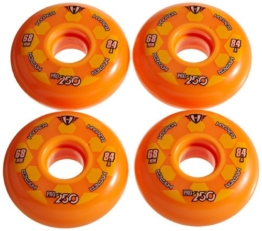 Hyper Rollen für Inlineskates Pro 250, Orange, 68, 72500 - 1