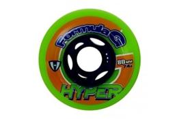 Hyper Rollen für Inlineskates Formula G Era, Neongrün/Blau, 76, 72400 - 1