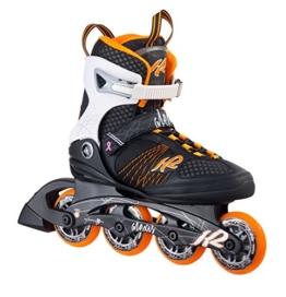 K2 Damen Inline Skate Alexis 80, Orange/Weiß/Schwarz, GR.EU 38, 30A0104.1.1.075 - 1
