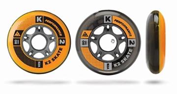 K2 Inline Rollenset mit Kugellagern Wheel 8-Pack/ILQ 7, 80mm, 3053010.1.1 - 1