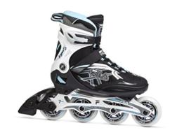 Fila Damen Inline Skate Argon 84, schwarz/weiß/blau, 40, 010616215 - 1