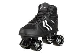 Fila Herren Roller-Skates Verve Rollschuhe, Schwarz/Weiß, 39 - 1