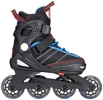Fila Jungen Inline Skate J-One, schwarz/blau/rot, 32-36, 010616147 - 3