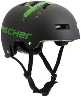 Fischer Fahrradhelm BMX, Schwarz, L60/XL62 86124 - 1