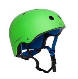 HUDORA 84108 - Skateboard-Helm, Scooter-Helm grün, Gr. 51-55, Skate Helm, Fahrrad-Helm - 1