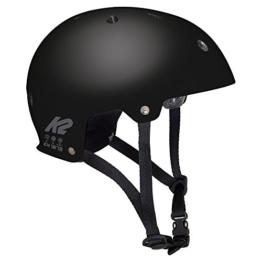 K2 Erwachsene Varsity Helm, Schwarz, M - 1