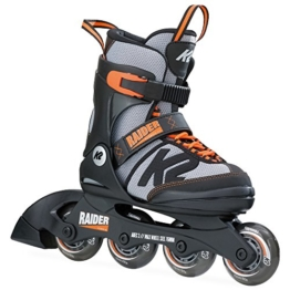 K2 Skate Raider, Schwarz Orange, 32-37 - 1