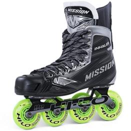 Mission Inhaler NLS4 Roller Hockey Skates Sr, Größe:12 = 48;Weite :E = Regular - 1