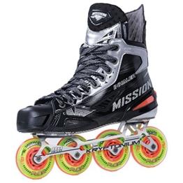 MISSION Inlinehockey Skate Inhaler NLS:01 - Senior , Größe:7 = 42;Weite :EE - 1
