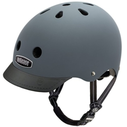 Nutcase Gen3 Bike und Skate Helm, Shark Skin matt, M, NTG3-3001M - 1