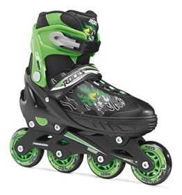 Roces Jungen Inline-skates Compy 6.0, black-light green, 30-33, 400808 - 1