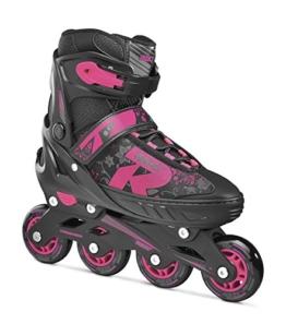 Roces Kinder Jokey 2.0 Girl Inliner, Black-Pink, 38-41 - 1