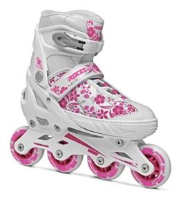 Roces Mädchen Inline-skates Compy 8.0, white-violet, 30-33, 400809 - 1