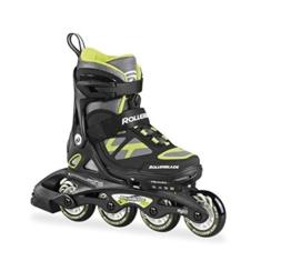 Rollerblade Jungen Inlineskate Spitfire TS, Black/Green, 21, 07506800 T83 - 1
