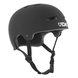TSG Helm Evolution Solid Color,Schwarz (satin black), S/M, 75046 - 1