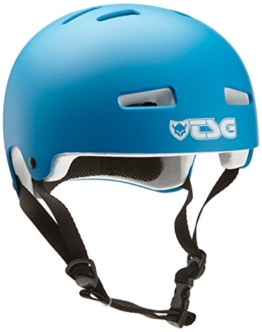 TSG Kinder Helm Evolution Kids Solid Color, Satin Dark Cyan, XXS/XS, 750016 - 1