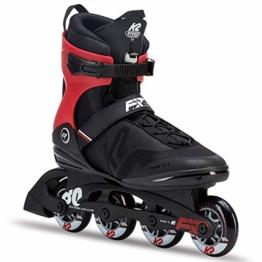 K2 Herren Fitness Inline Skates F.I.T. 80 Pro - Schwarz - EU: 43.5 (US: 10 - UK: 9) - 30C0716.1.1.100 - 1