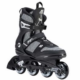 K2 Herren Inline Skates F.I.T. 80 PRO - Schwarz-Grau - EU: 43.5 (US: 10 - UK: 9) - 30D0771.1.1.100 - 1