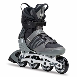 K2 Herren Inline Skates F.I.T. 84 Pro - Schwarz-Grau - EU: 45 (US: 11.5 - UK: 10.5) - 30C0013.1.1.115 - 1