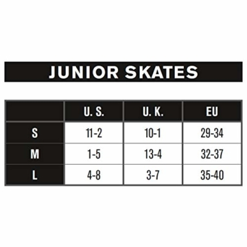 K2 Mädchen Inline Skates MARLEE PRO - Schwarz-Rosa - S (29-34 EU; 10-1 UK; 11-2 US) - 30D0222.1.1.S - 6